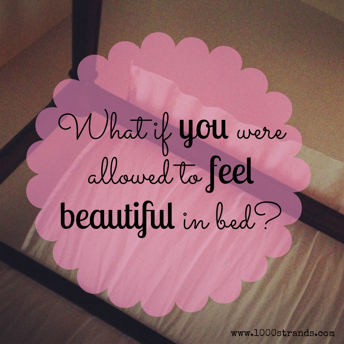 Beautiful in Bed Question