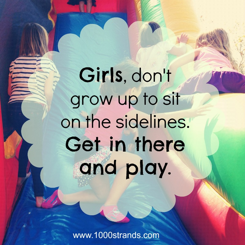 Girls Play 1000strands.com
