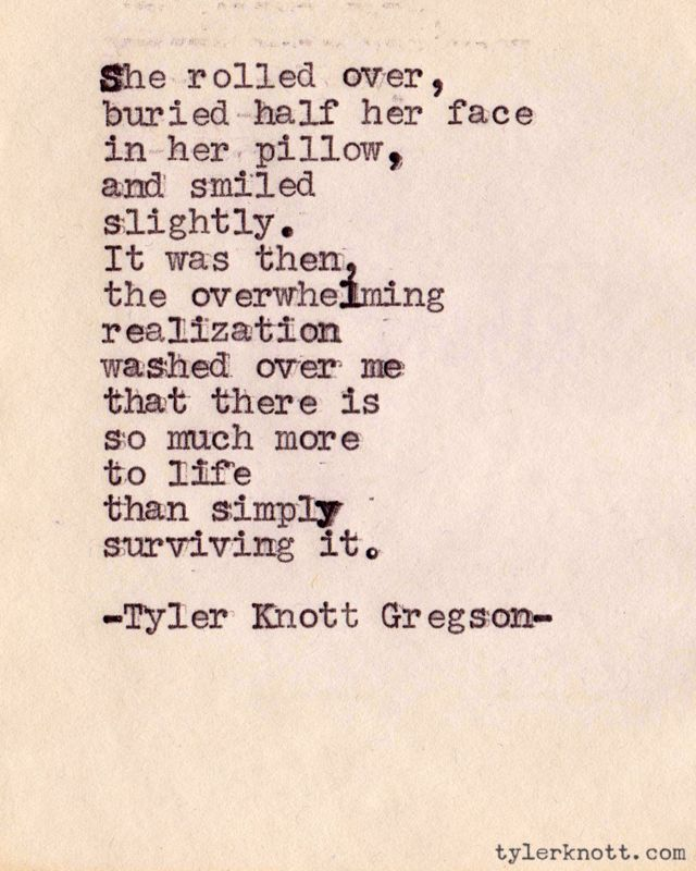Tyler Knott Poem - Love and Making It