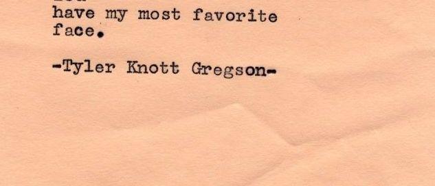 Poem - Tyler Knott