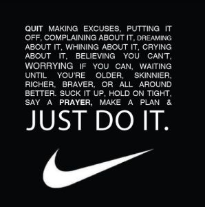 Just Do IT - Love and Making It meets Nike :)