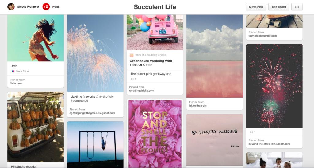 Succulent Life Pinterest Board @nicoletteromero | 1000strands